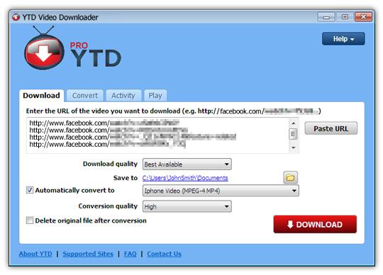 YTD Video Downloader PRO 6.11.7 Crack + Free Keys